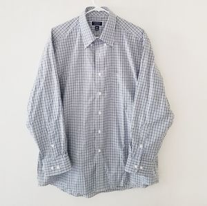 Club room regular fit performance button down